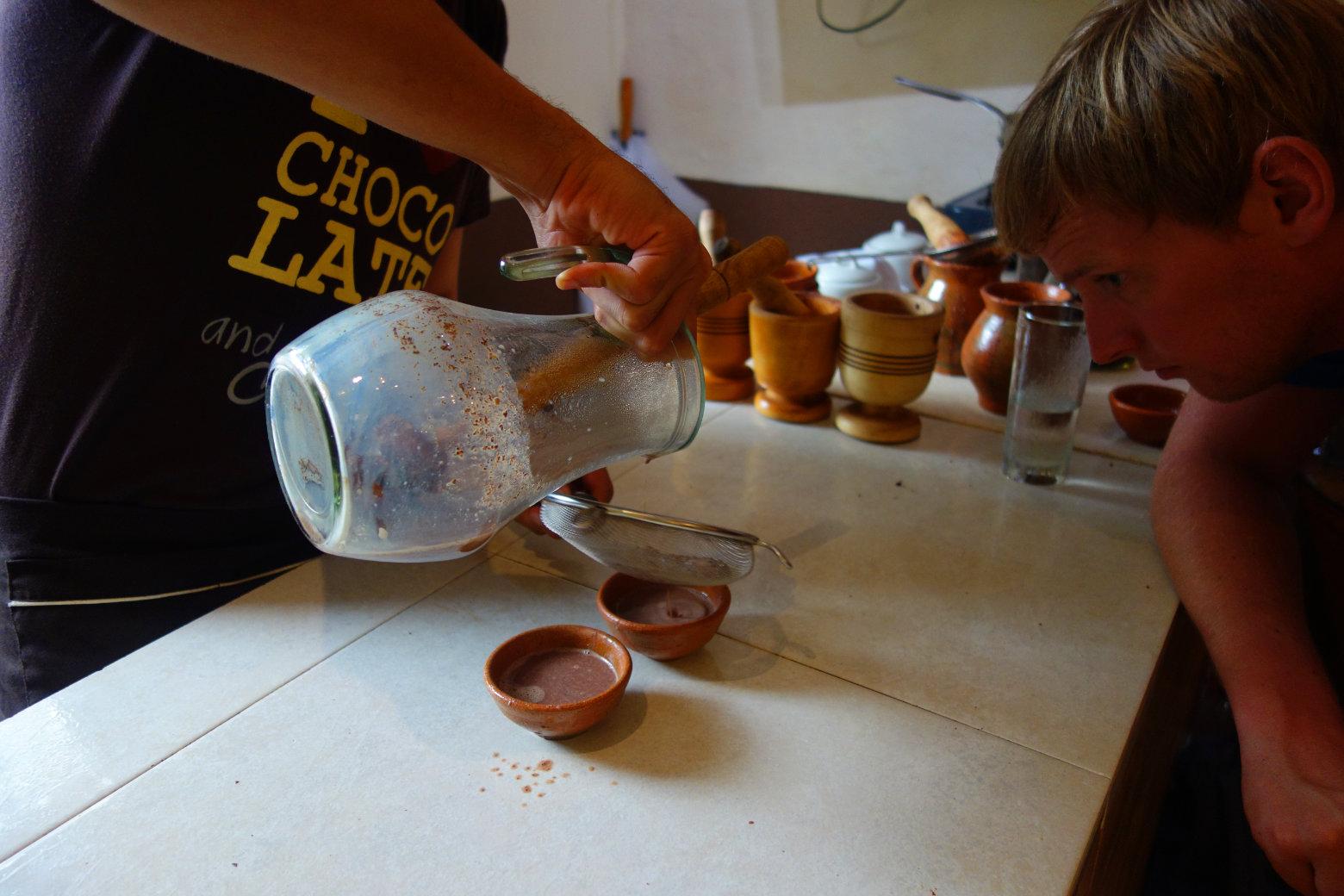 Cartagena Schokoladenkurs Maya Schokolade