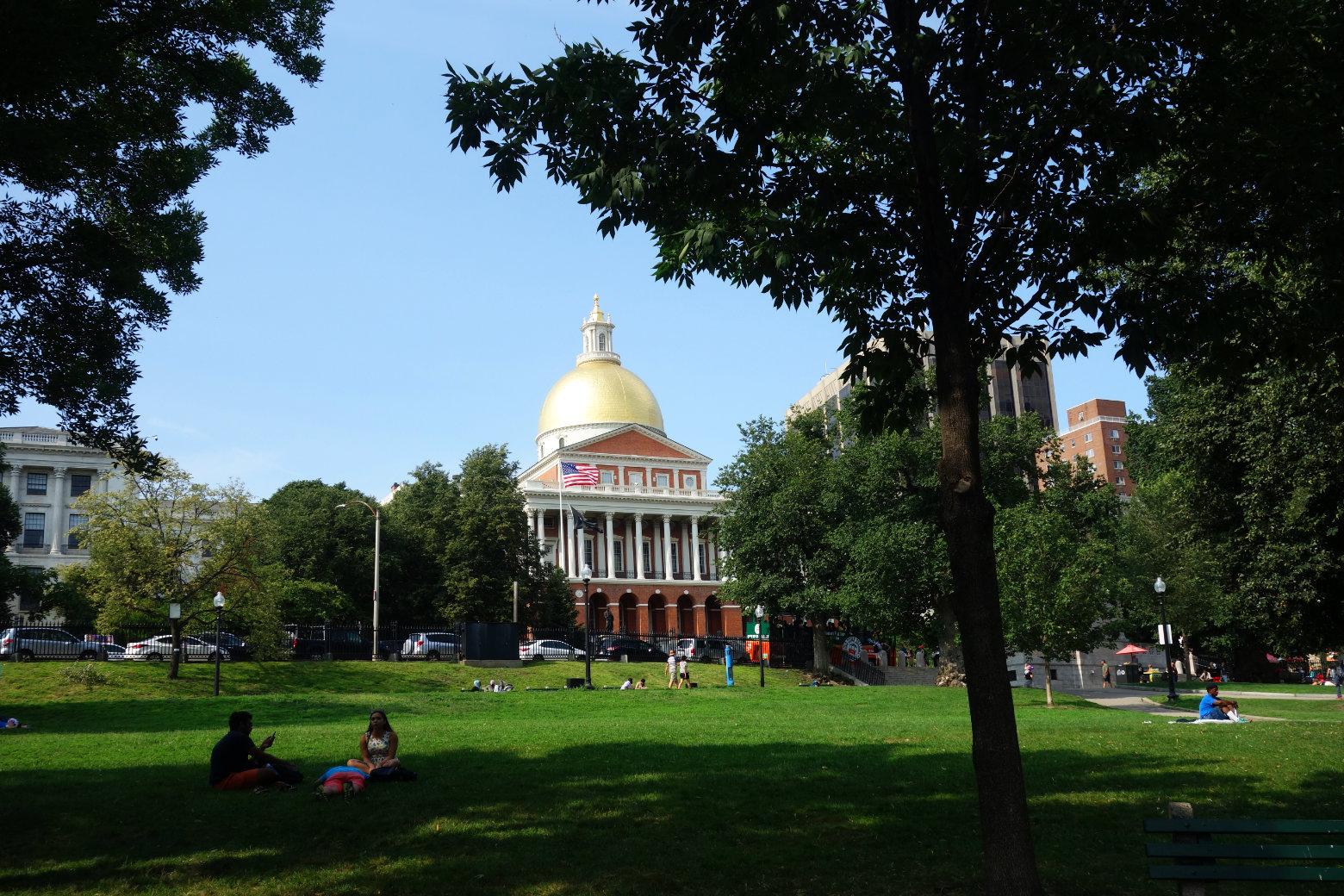 Boston Common State House