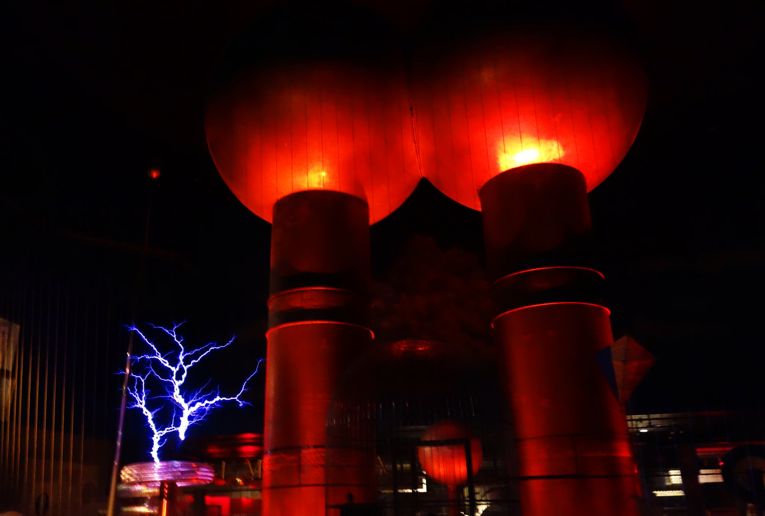 Boston Museum of Science Lightning Show