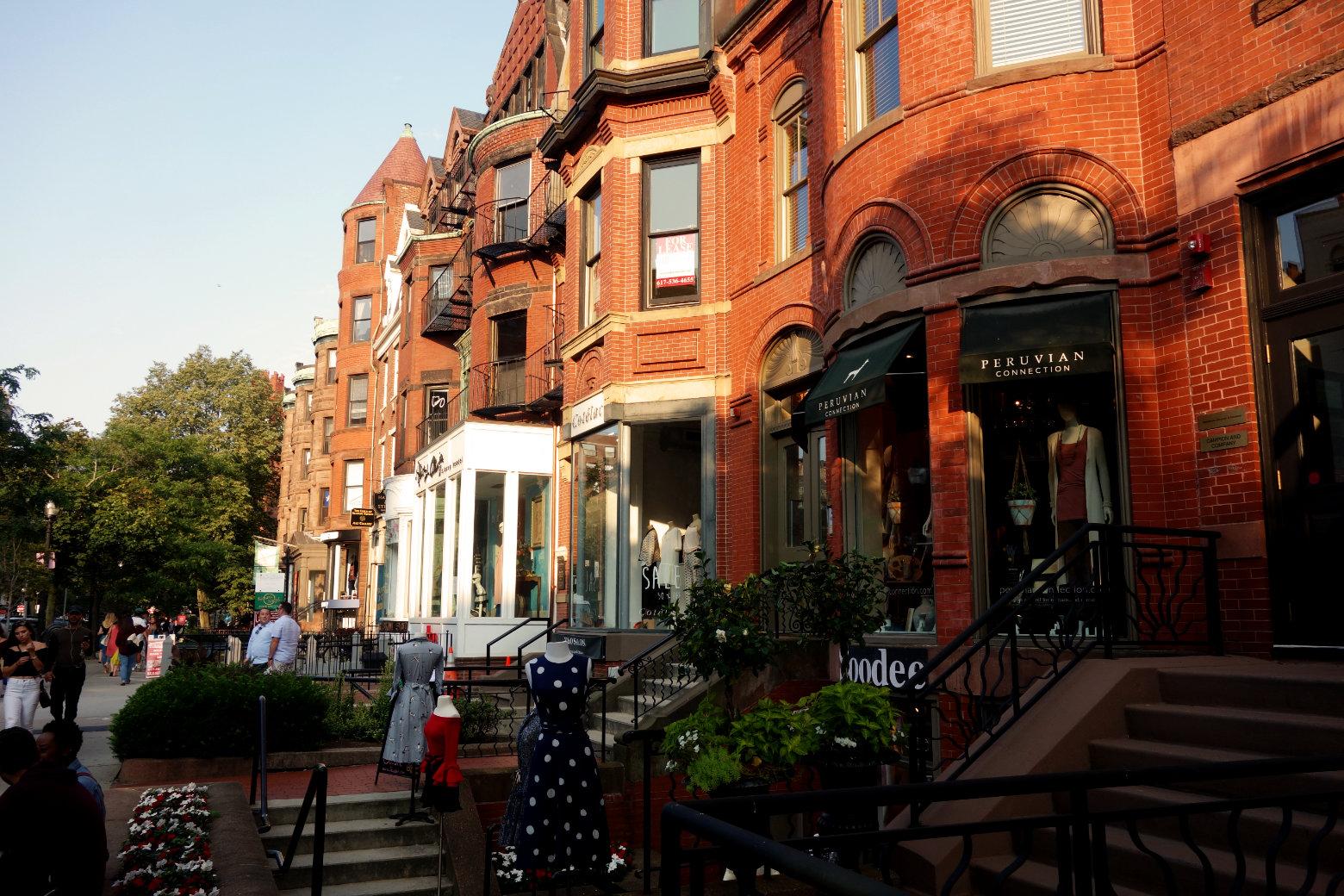 Boston Back Bay Newbury Street