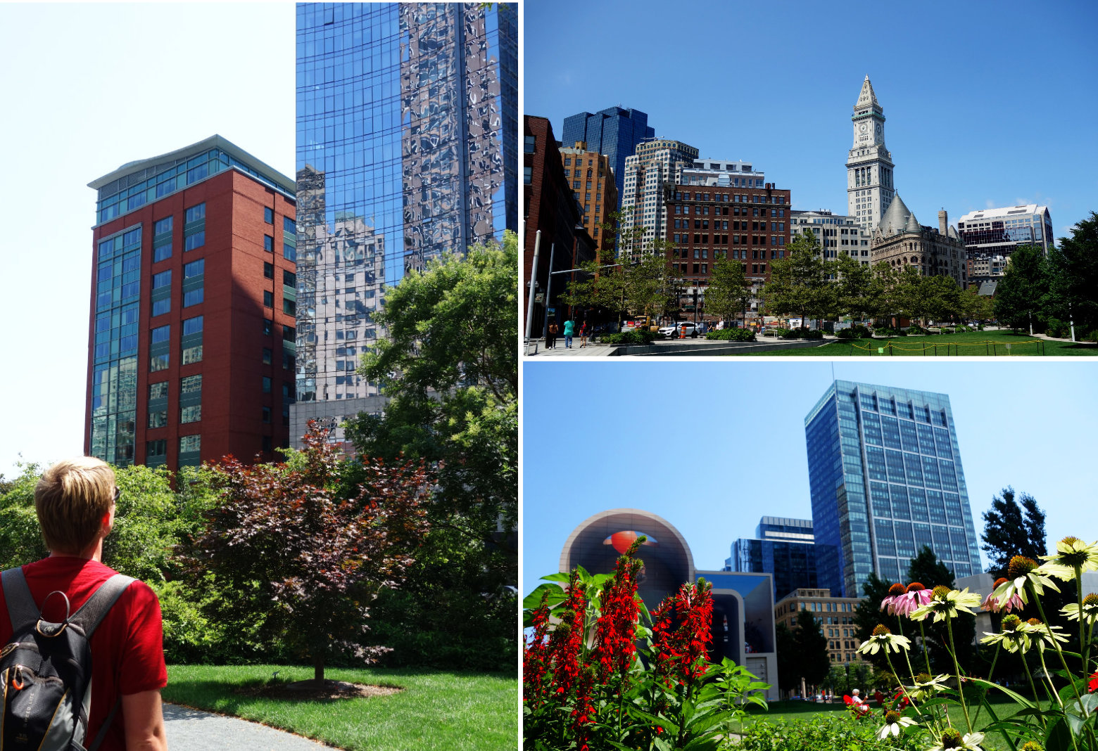 Boston Financial District Rose Kennedy Greenway