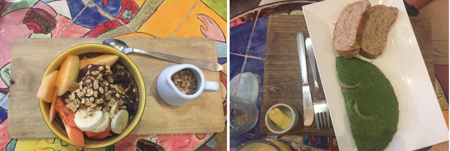 Cartagena Beyu Cafe Frühstück