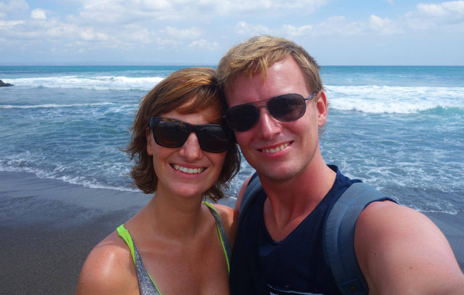 Bali Canggu Wir am Meer