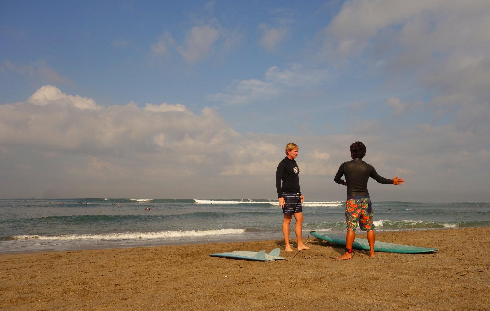 Canggu Surfen
