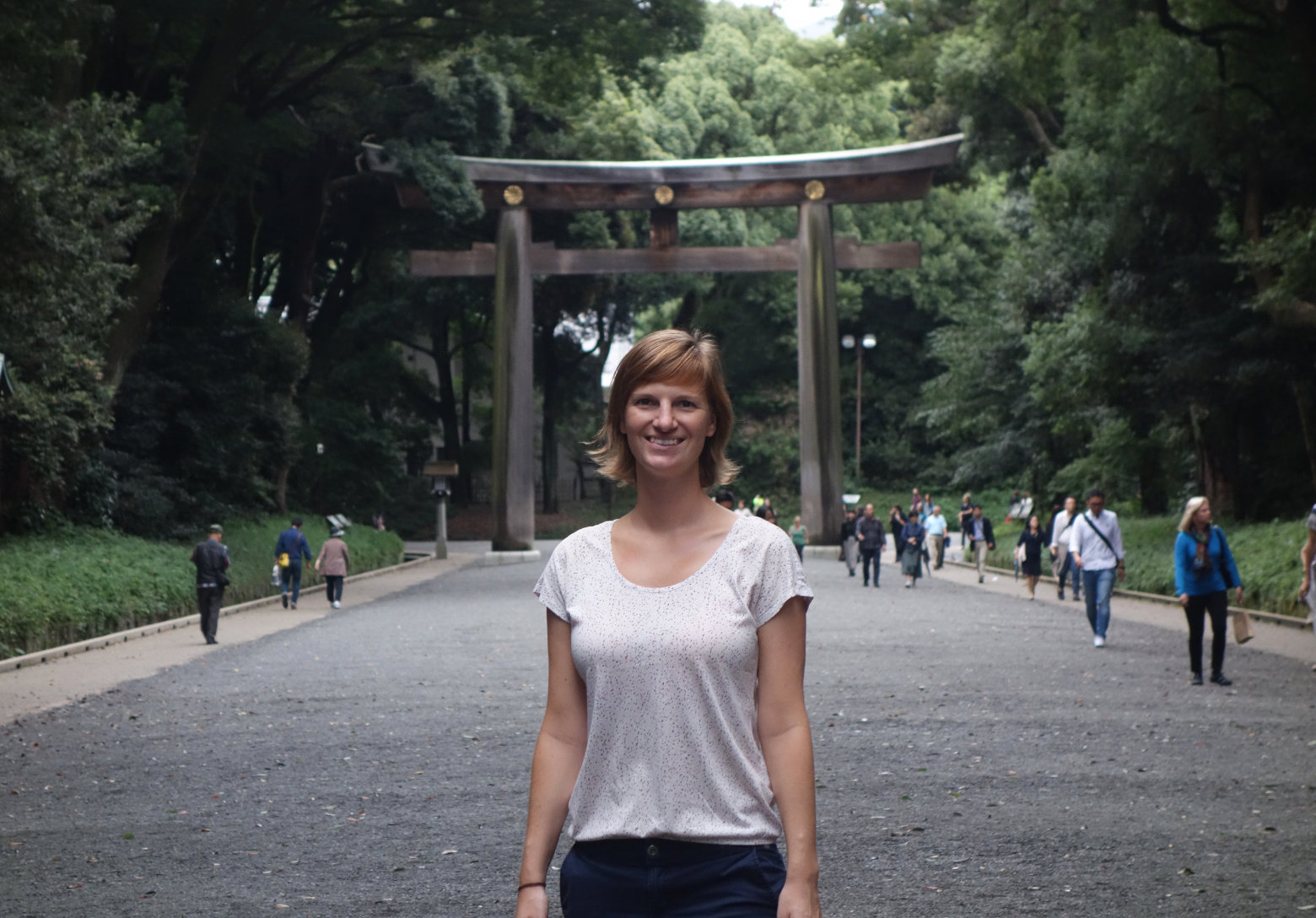 Tokio Meiji Schrein Wald