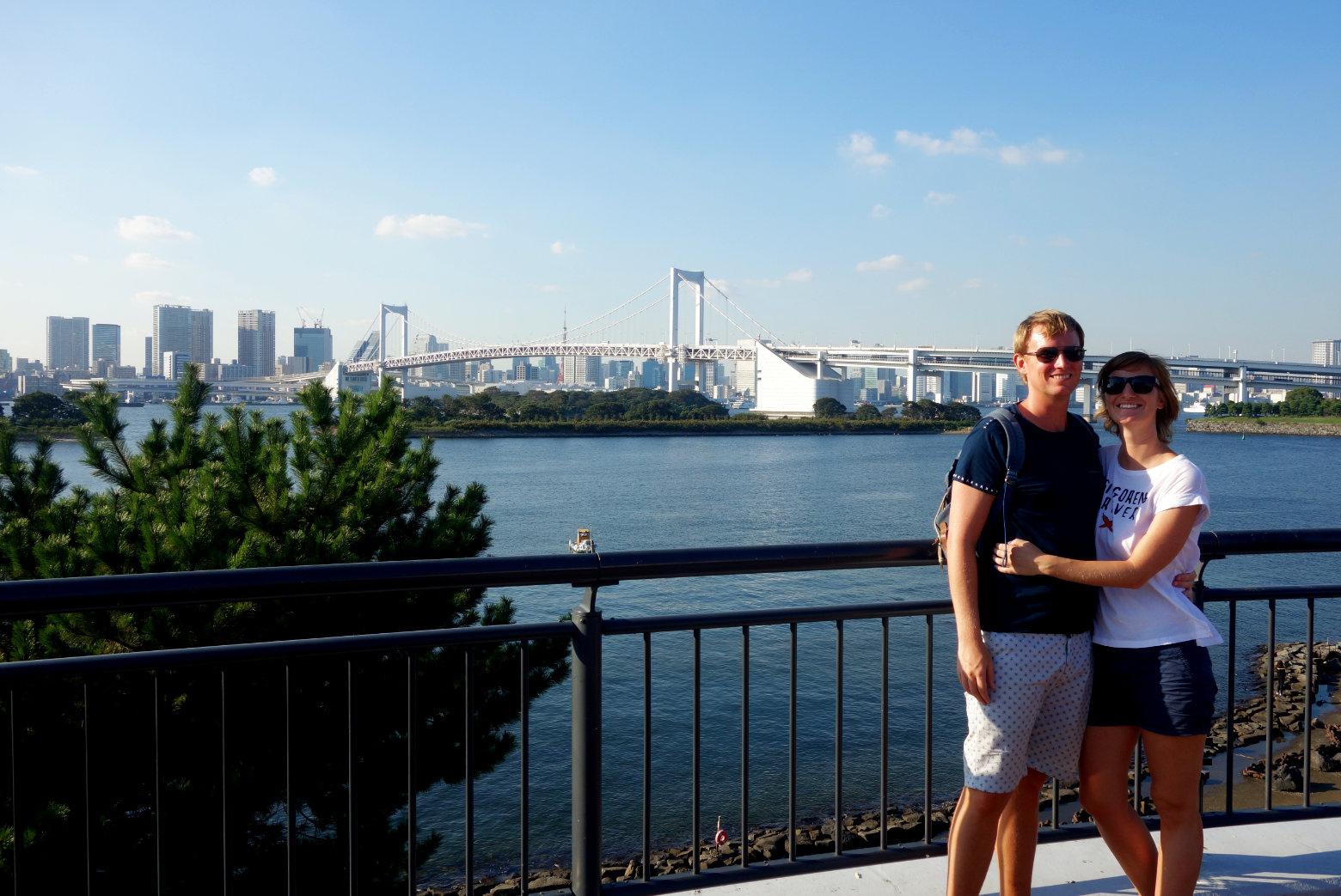 Tokyo Skyline von Odaiba