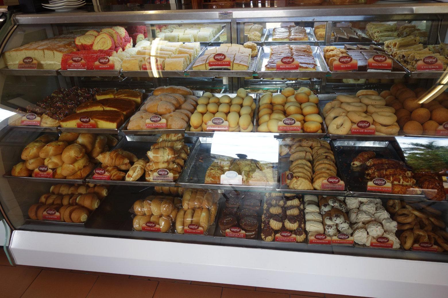 Kolumbien Reisetipps Essen Bäckerei