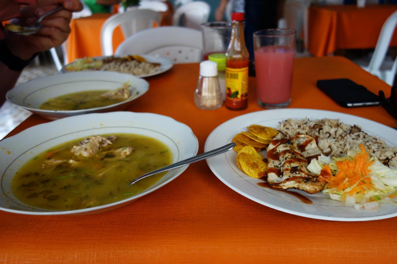 Kolumbien Reisetipps Essen Menu del Dia