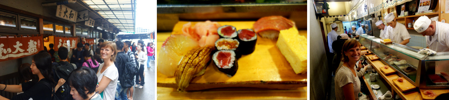 Sushi Fischmarkt Tokio
