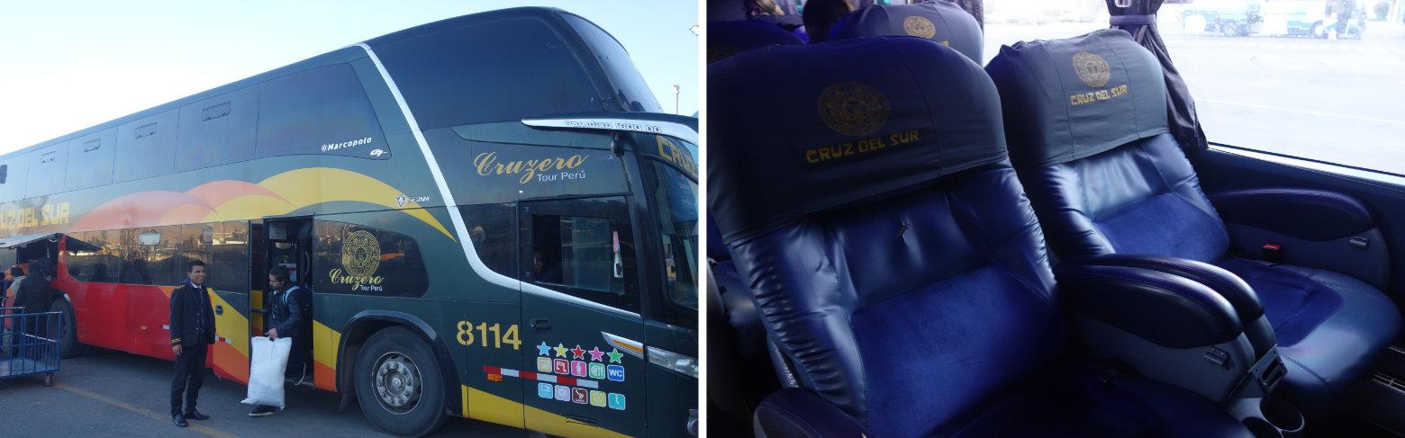 Peru Reisetipps Bus Cruz del Sur