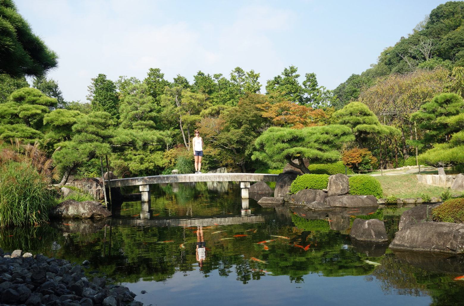 Himeji Koko-en Garten