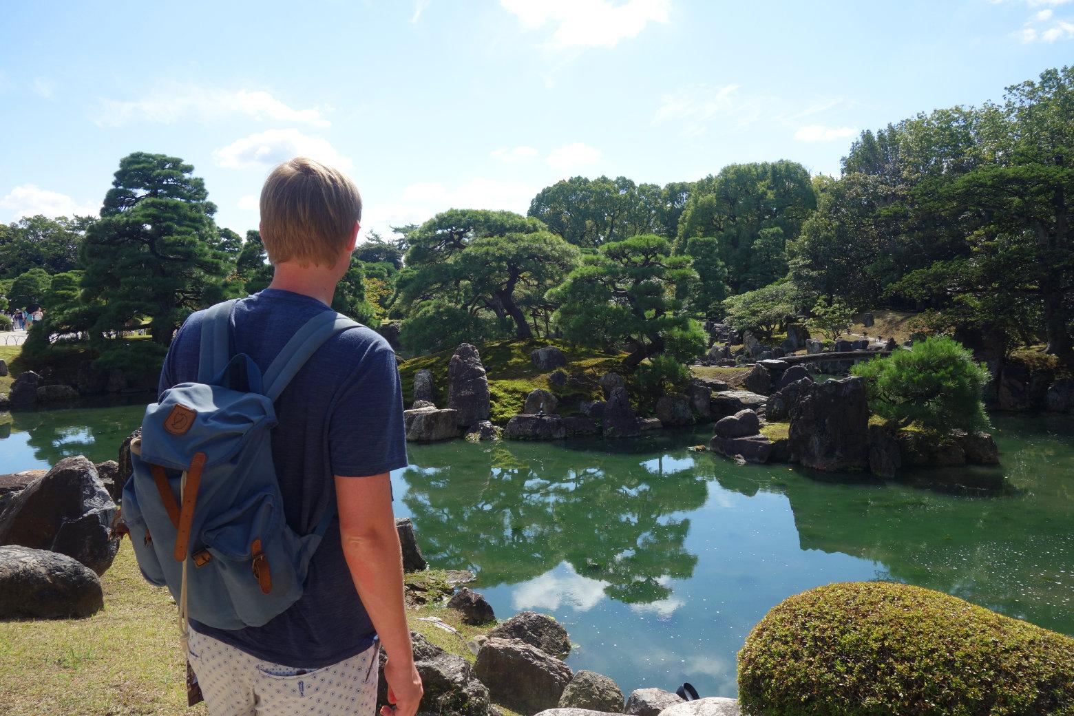 Kyoto Niji-jo Garten Matthias