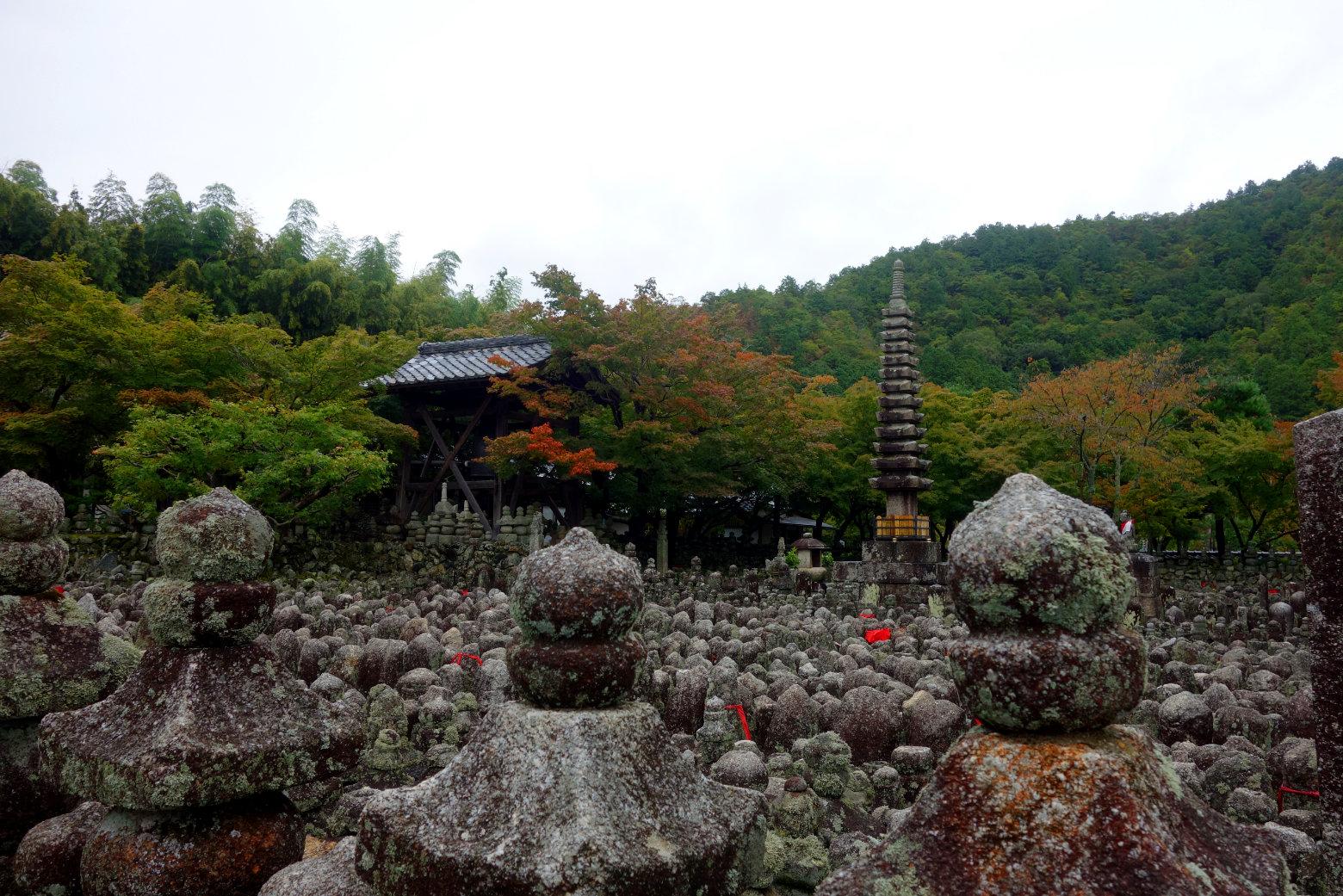 Kyoto Nenbutsu-ji Tempel