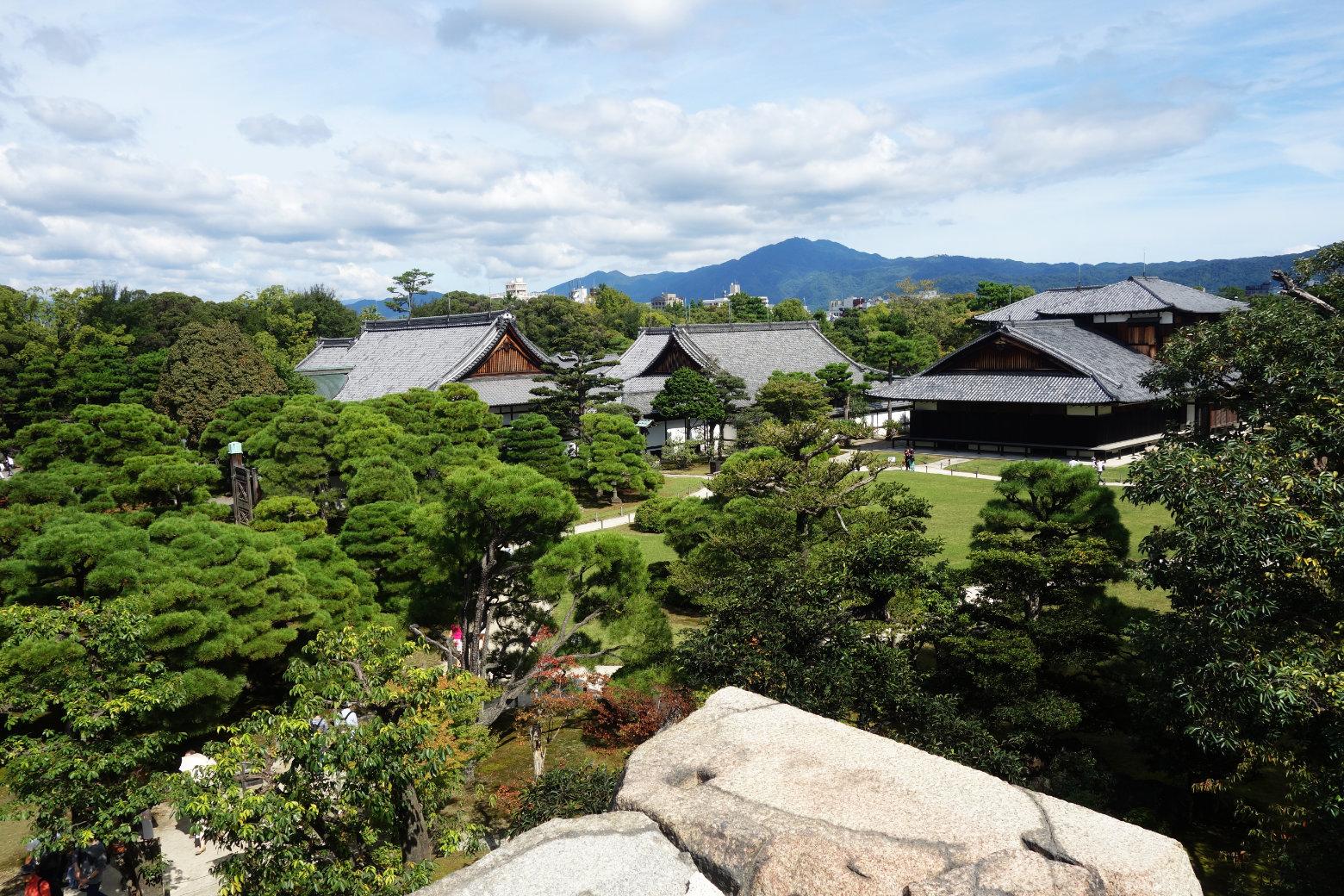 Kyoto Nijo-jo Gelände