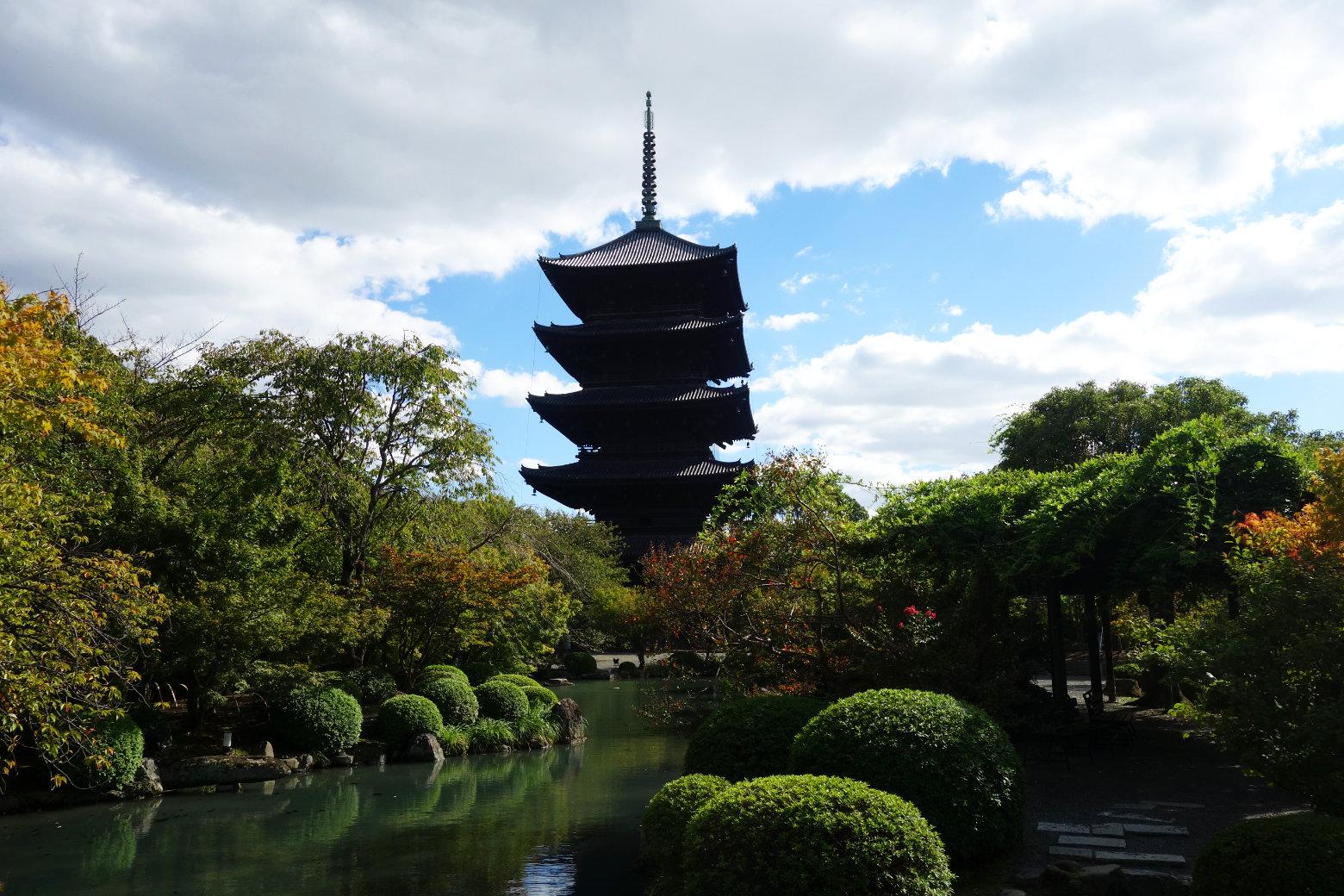 Kyoto To-ji Pagode