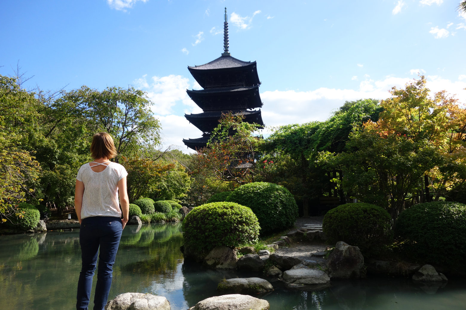 Kyoto To-ji Pagode Franzi