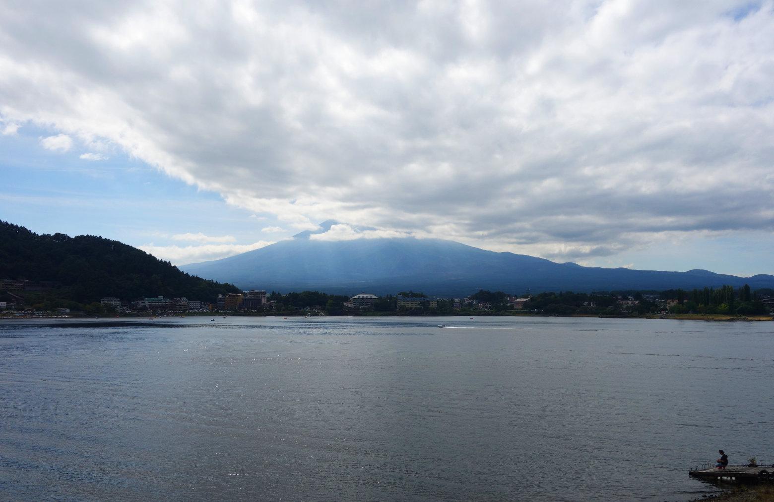 Mt Fuji Blick vom Kawaguchiko See