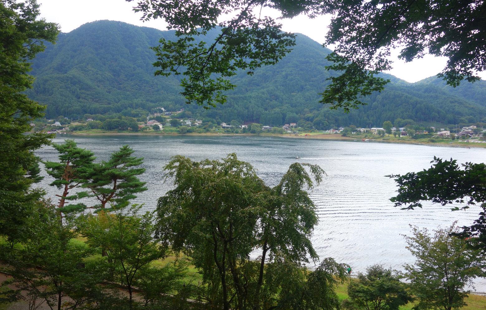 Mt Fuji Fahrradtour Kawaguchiko See