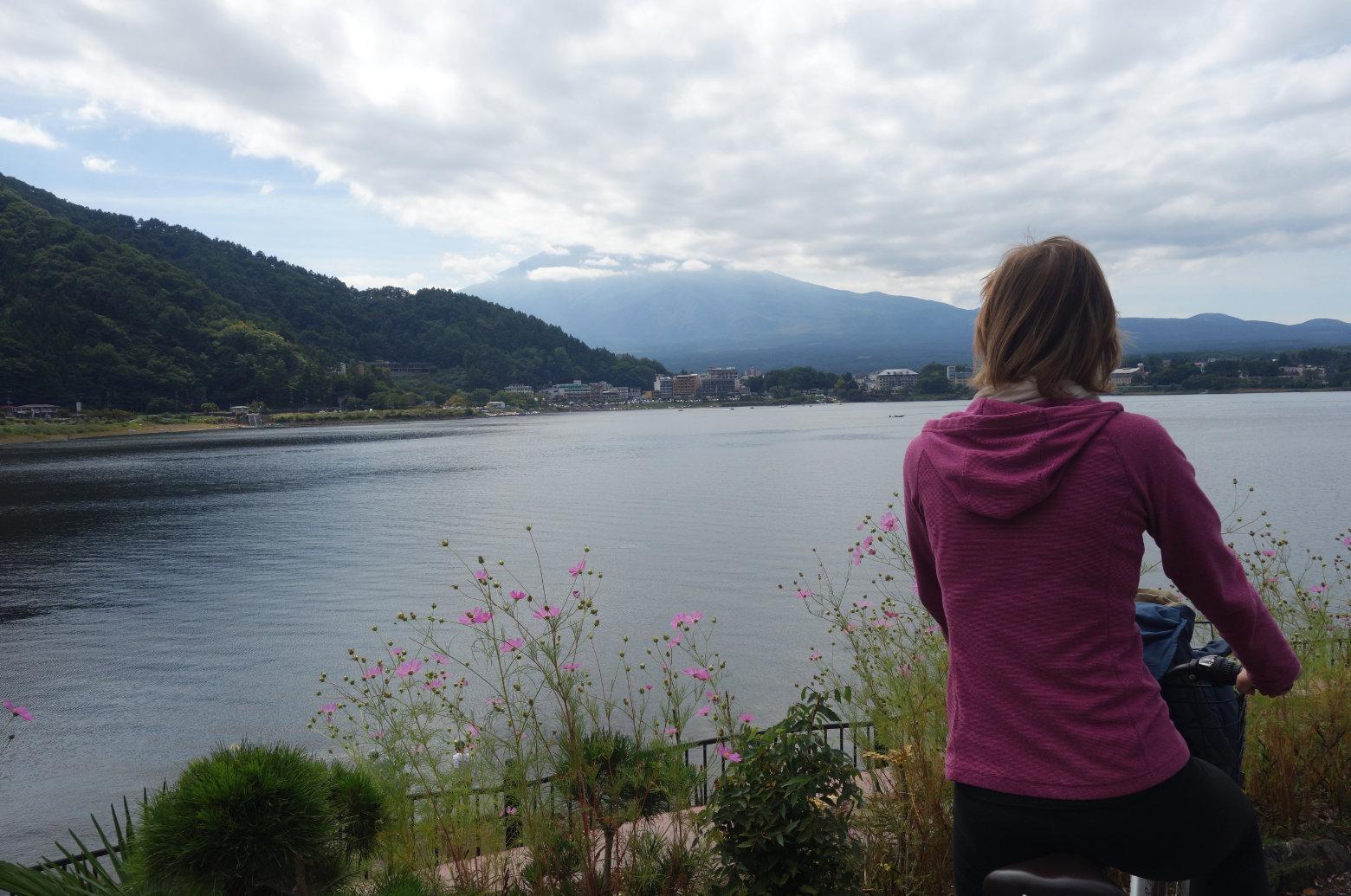 Mt Fuji Fahrradtour Blick