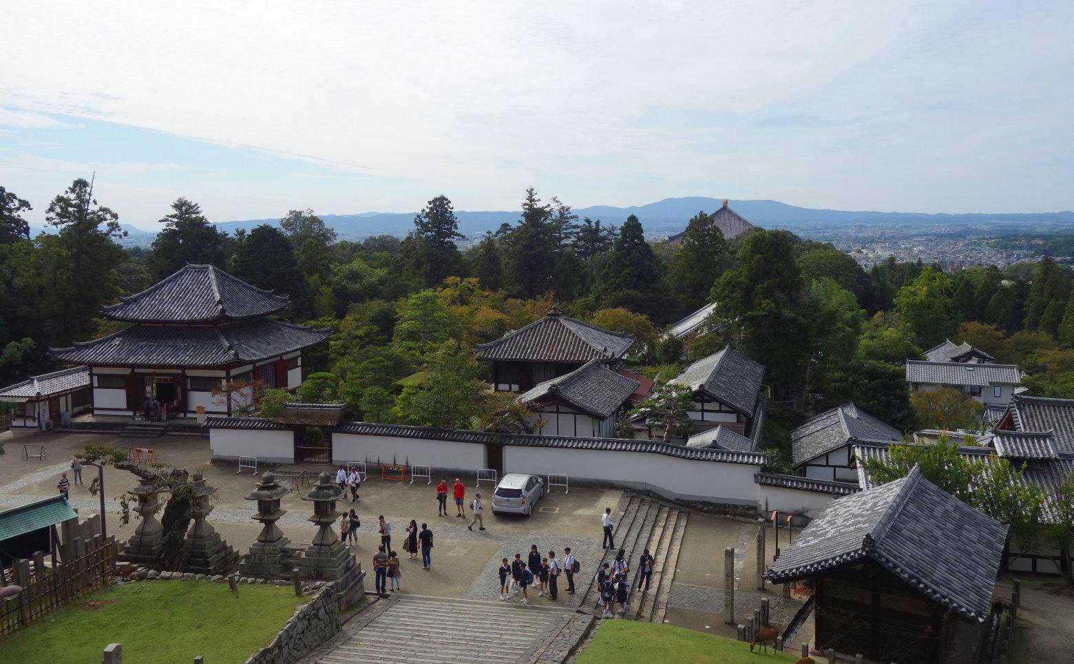 Nara Blick vom Nigatsu-do