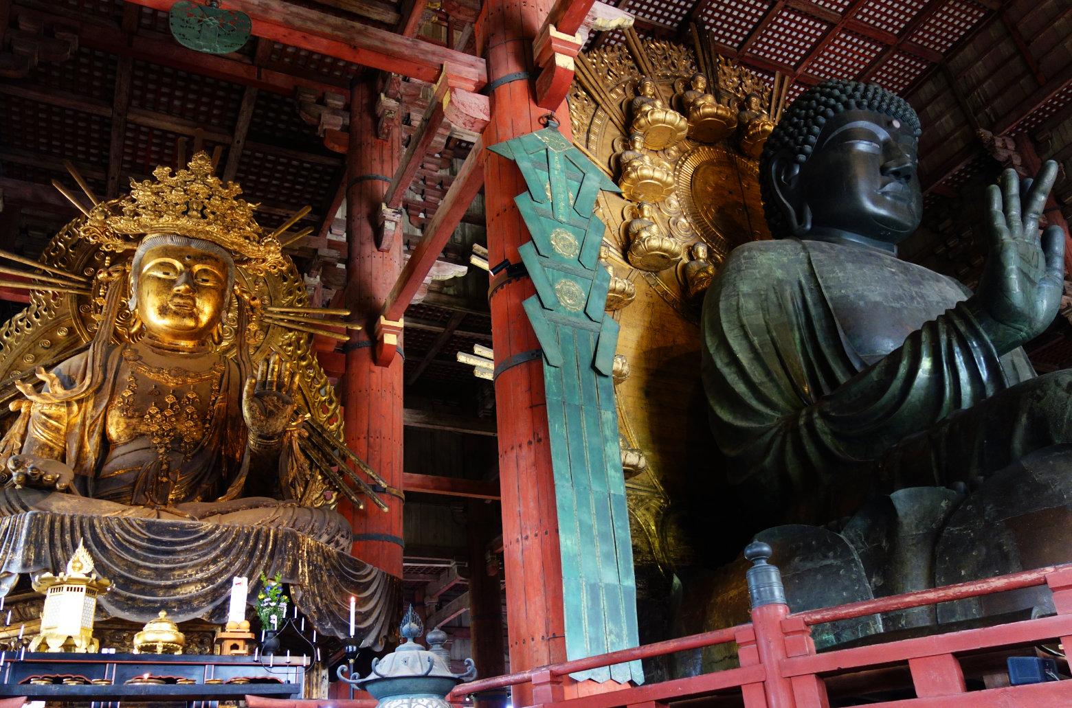 Nara riesiger Bronze Buddha