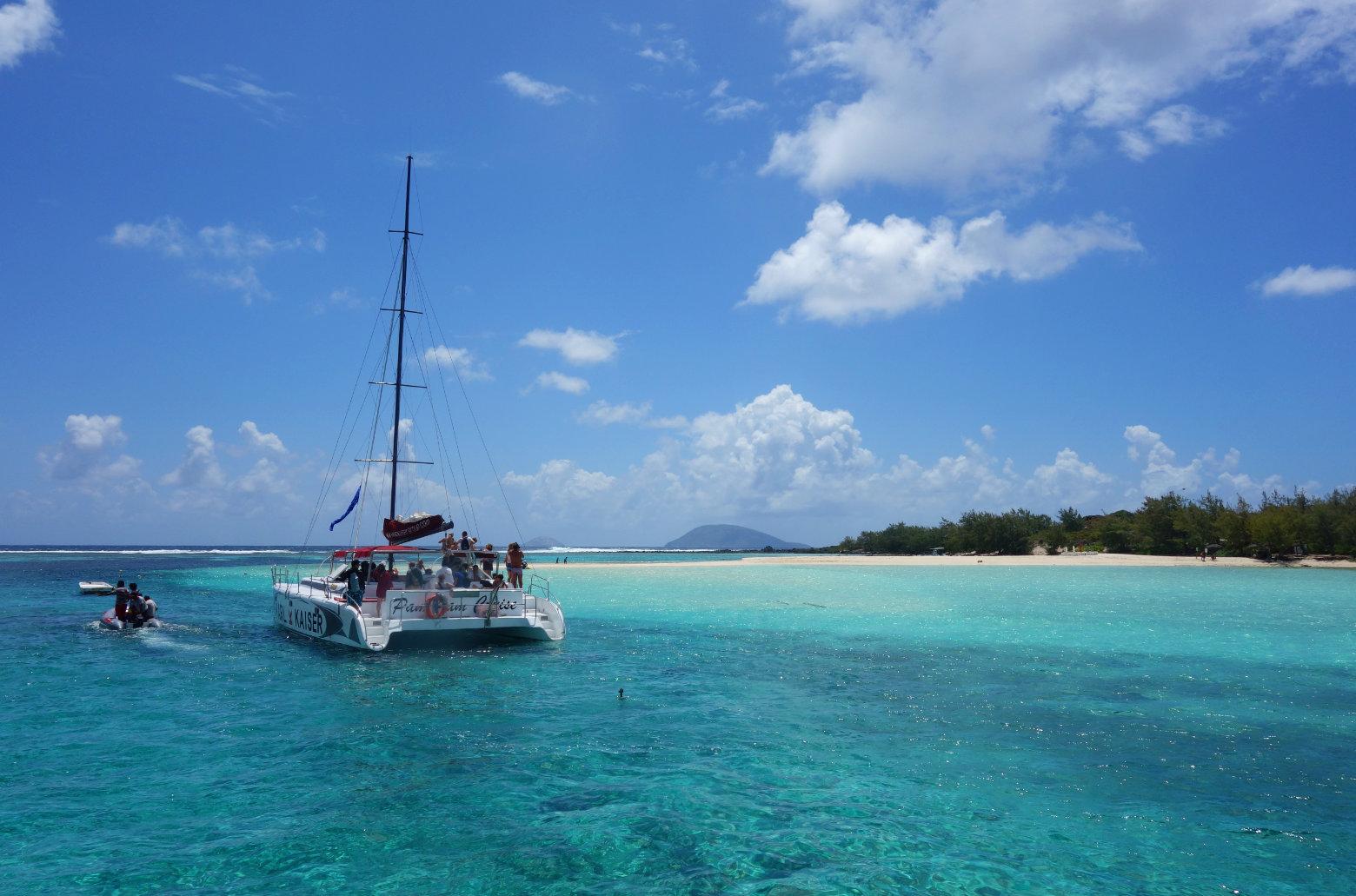 Mauritius Pereybere Catamaran