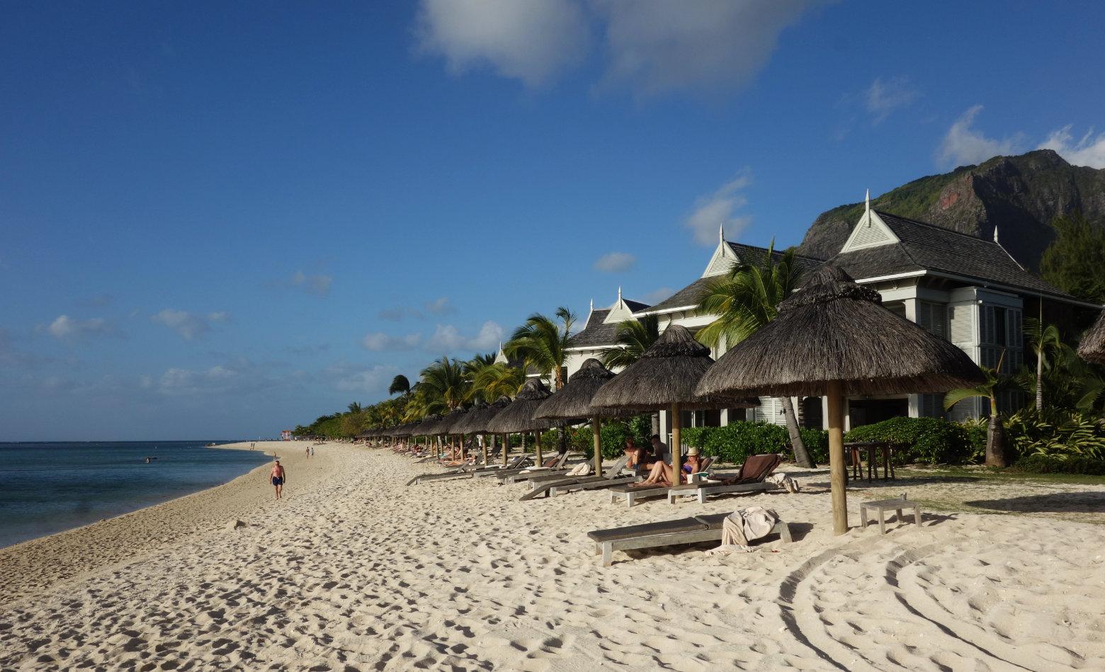 Mauritius Le Morne Strand