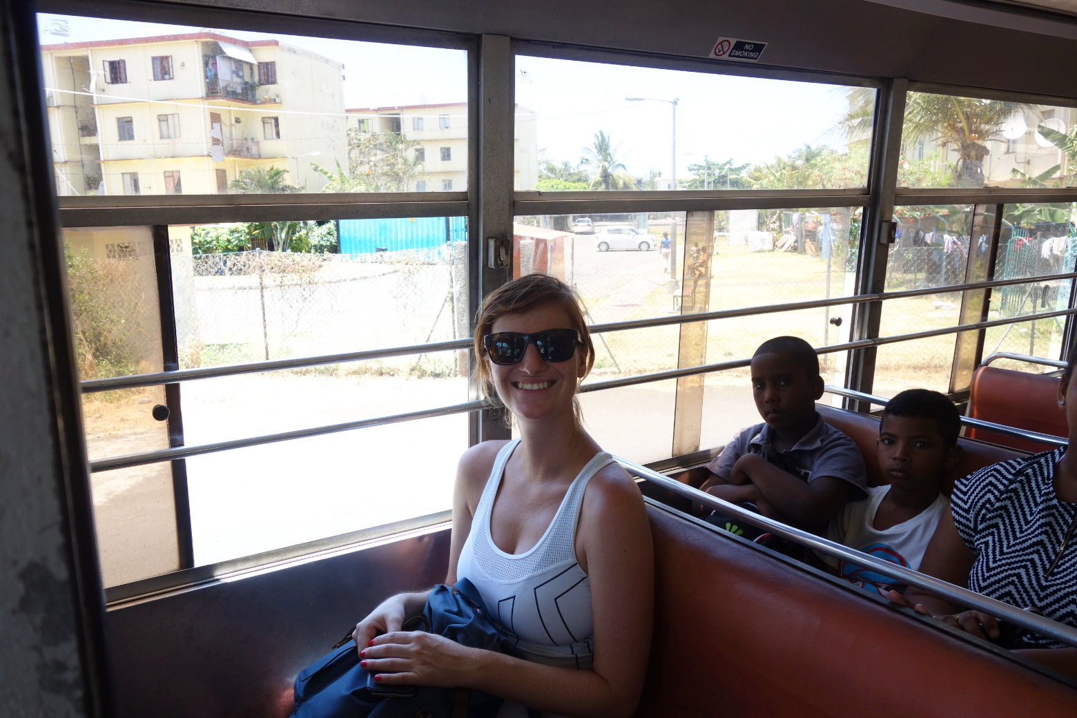 Mauritius Busfahrt