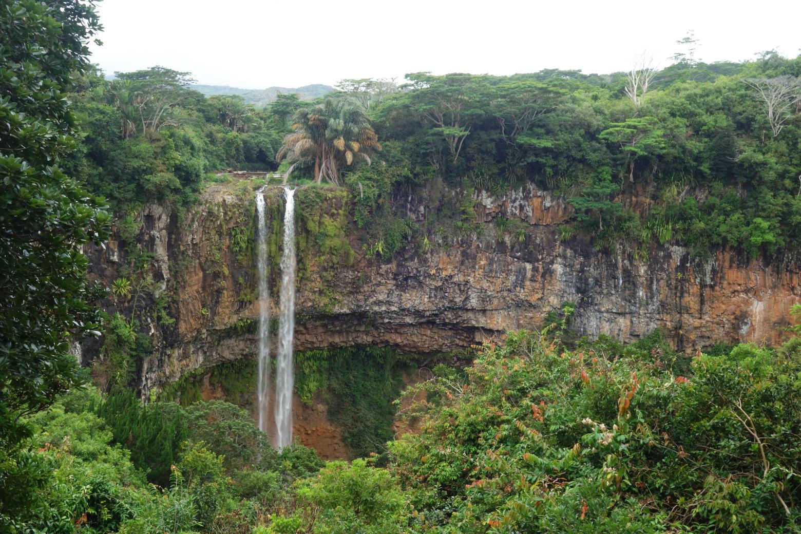 Mauritius Chamarel Wasserfall