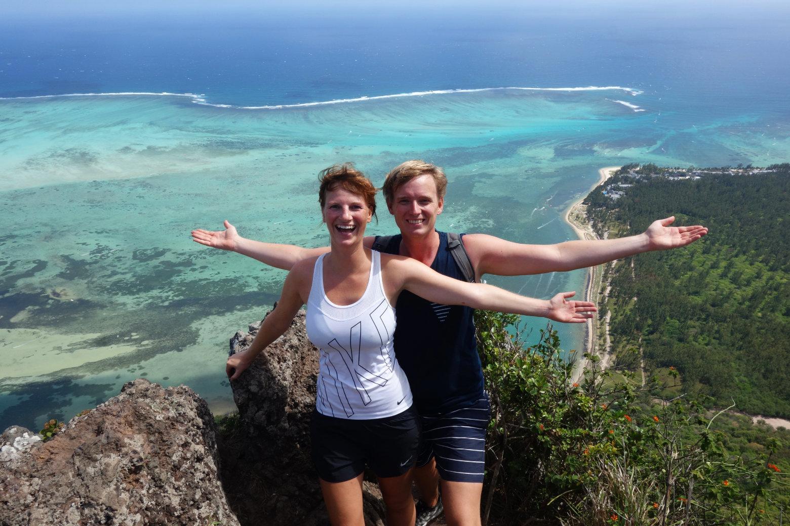 Mauritius Le Morne Bergspitze
