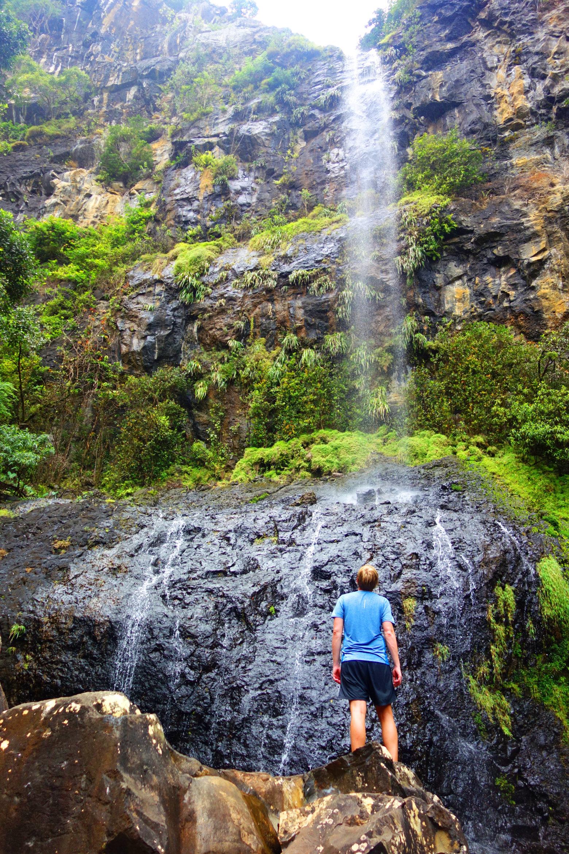 Mauritius Mare aux Joncs Wasserfall