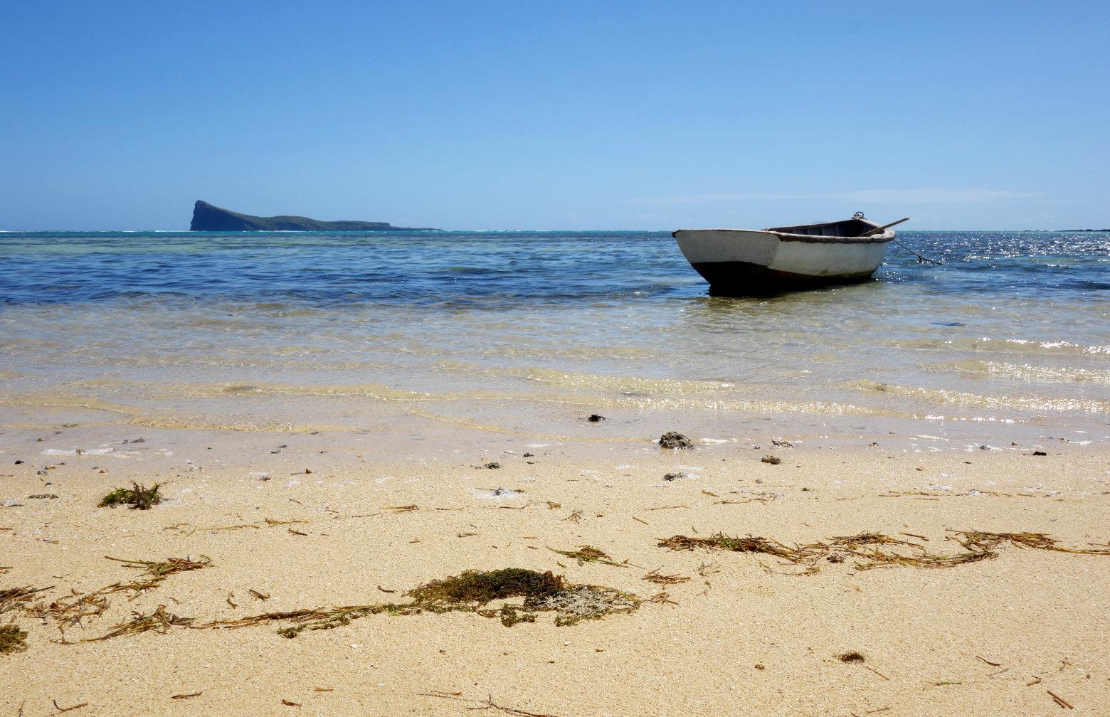Pereybere-Malheureux Ausblick Insel