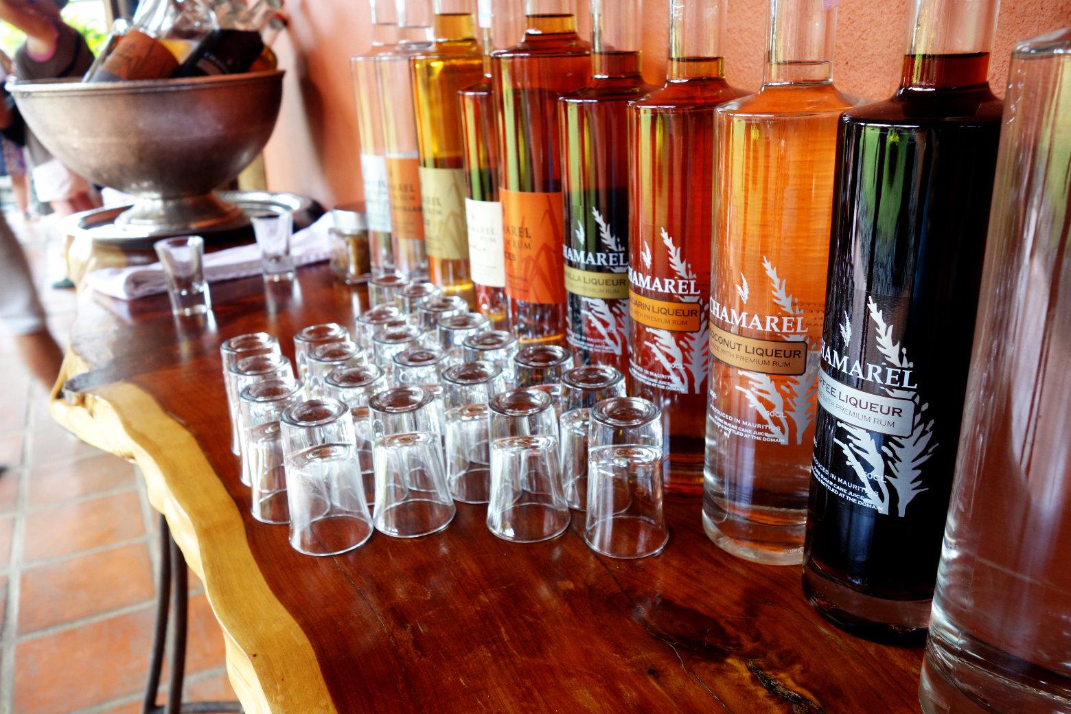 Mauritius Rhumerie Rumflaschen