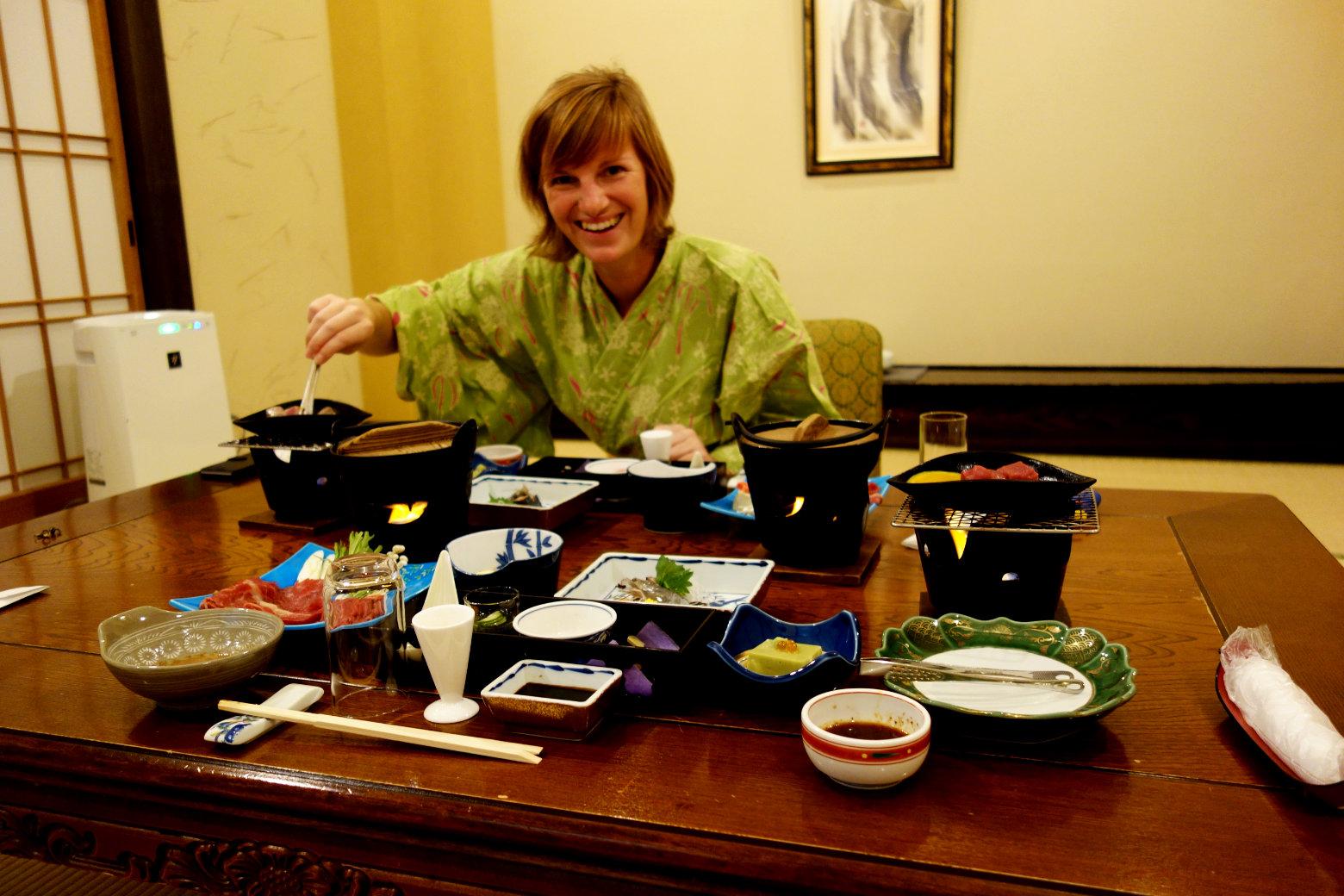 Japan Essen traditionell