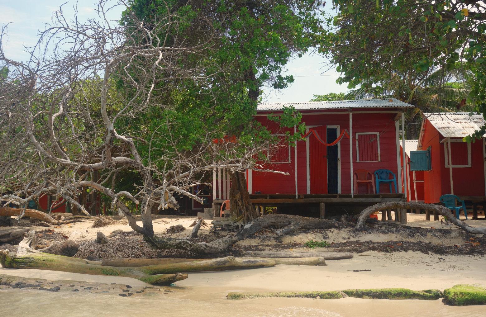 Karibik Hütte am Meer