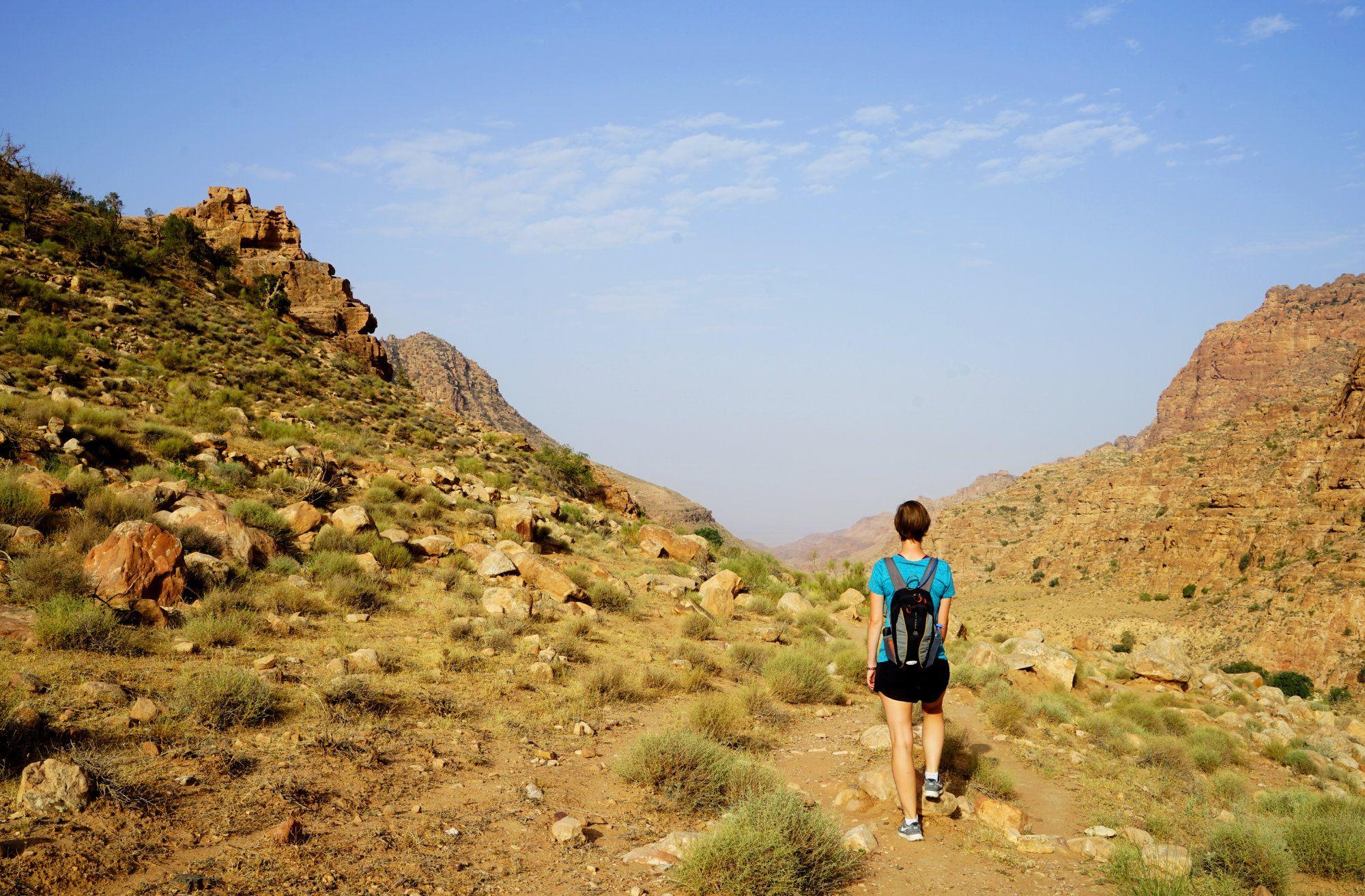 Dana Trail Jordanien