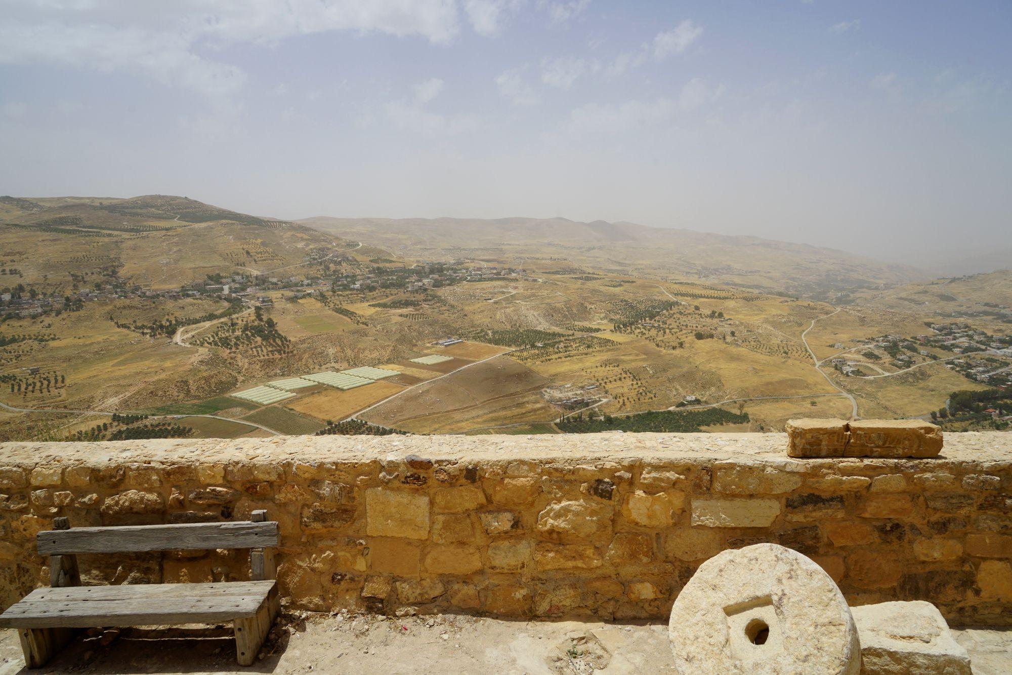 Karak Castle Ausblick