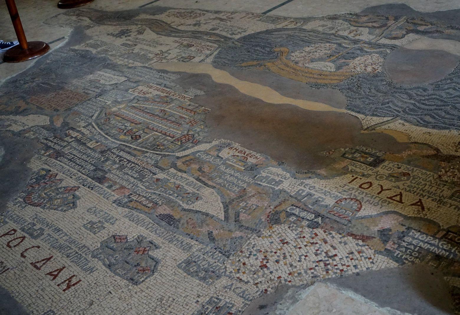 Madaba Mosaik Karte
