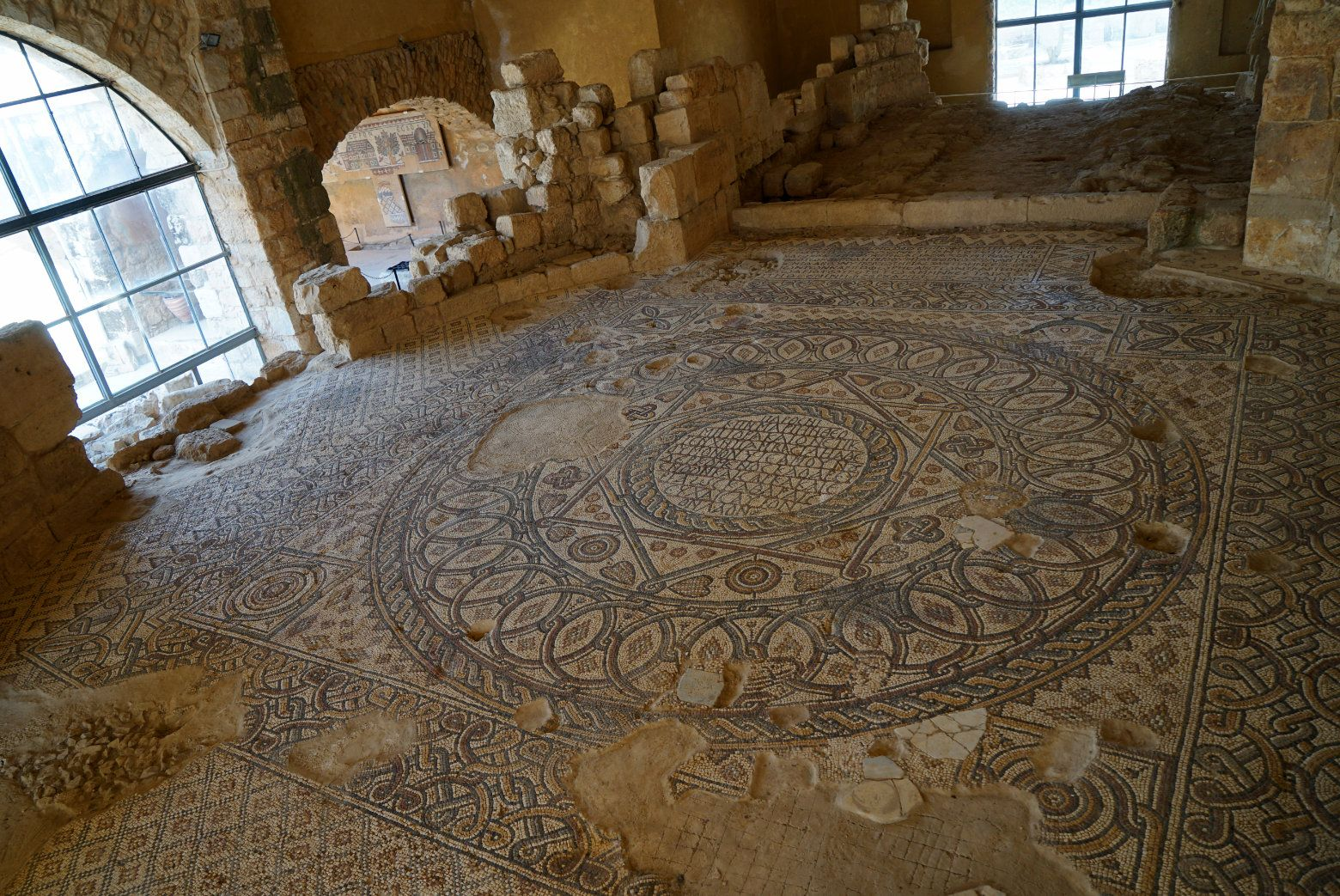 Madaba Virgin Mary Church Mosaik