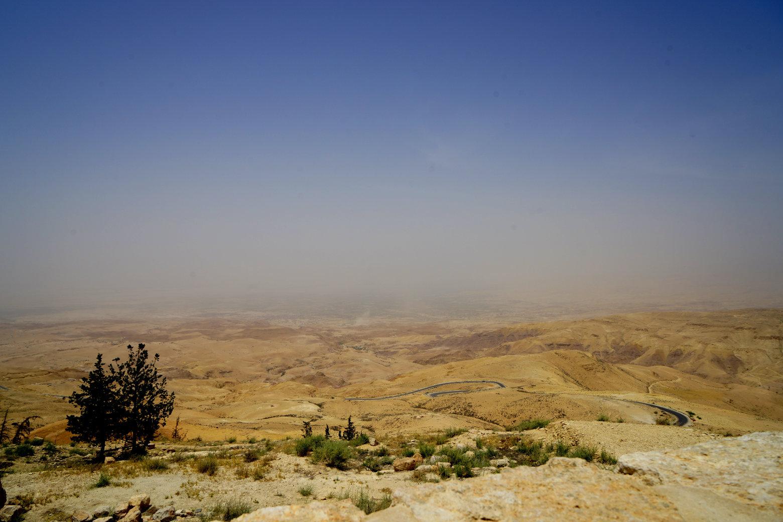 Mount Nebo Valley Dunst