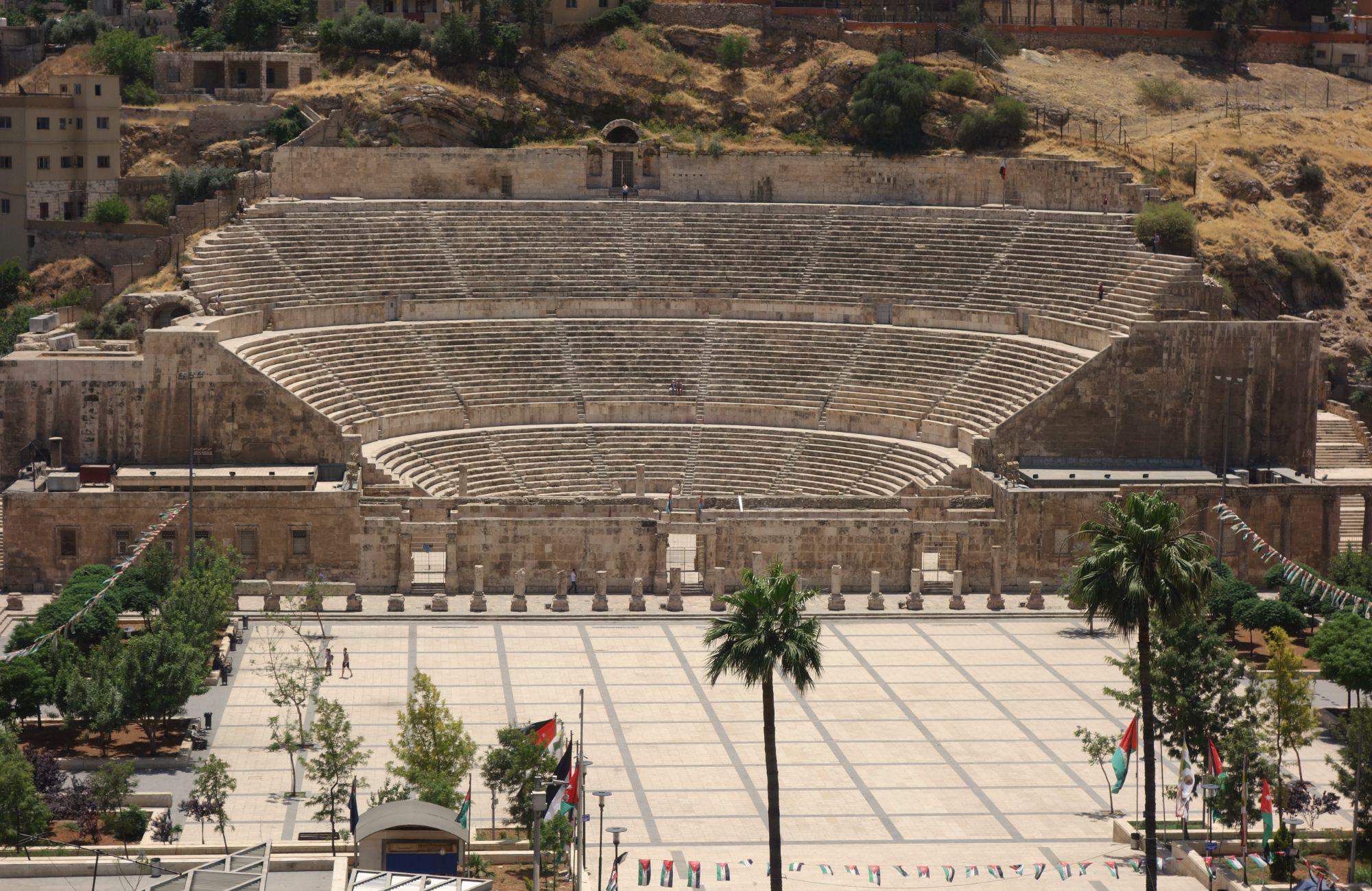 Amman Römisches Theater von oben