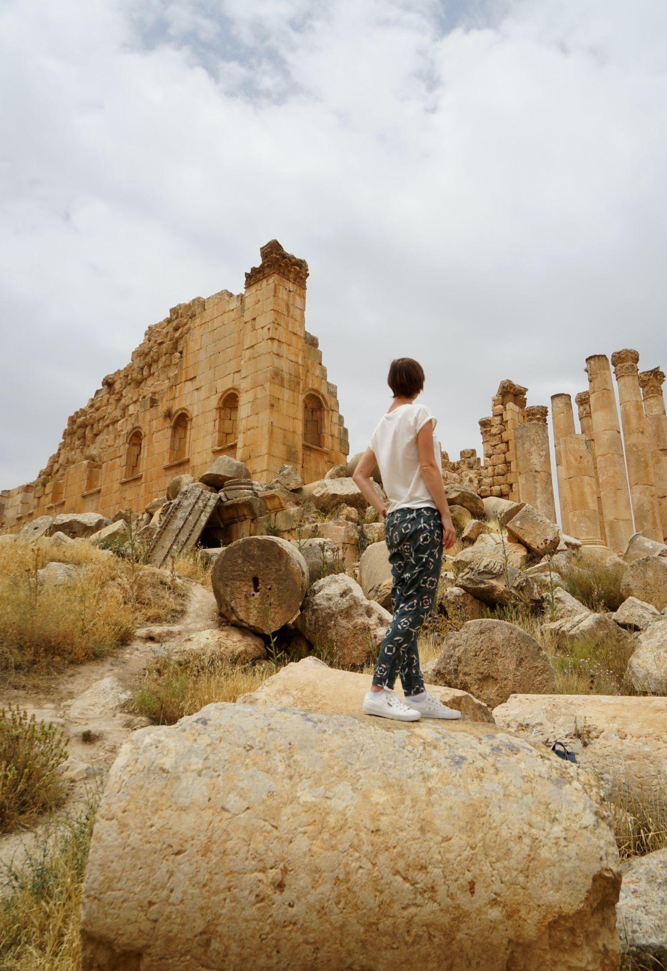 Jerash Zeus Tempel Franzi