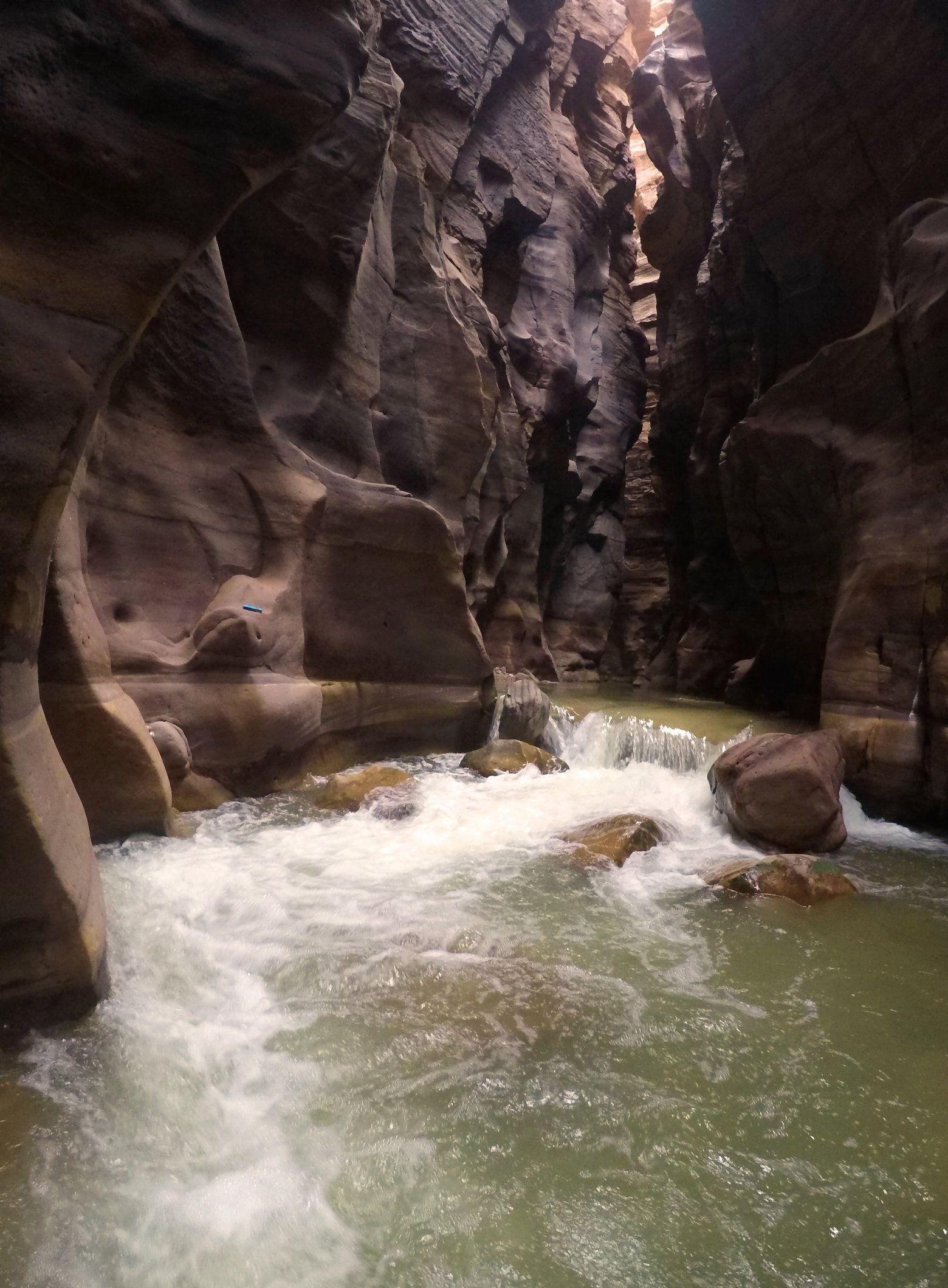 Wadi Mujib Stromschnelle