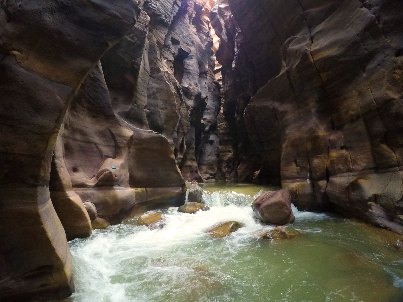 Wadi Mujib Canyon