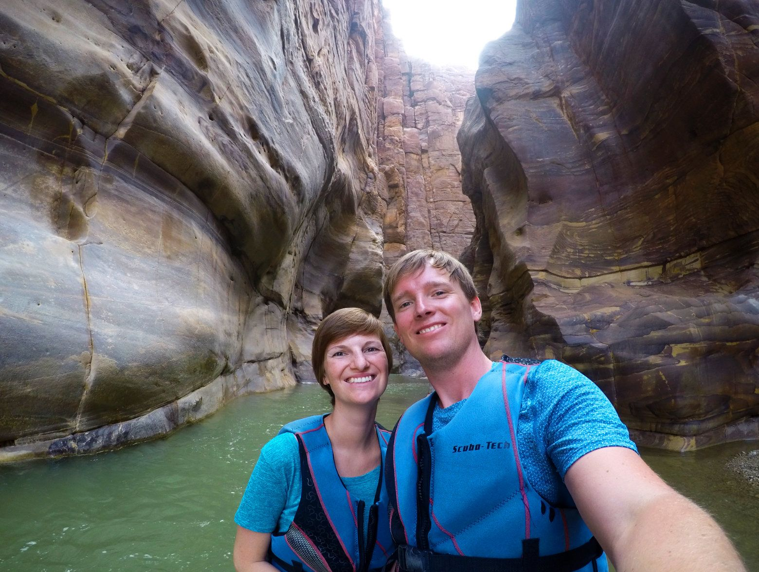 Wadi Mujib Selfie