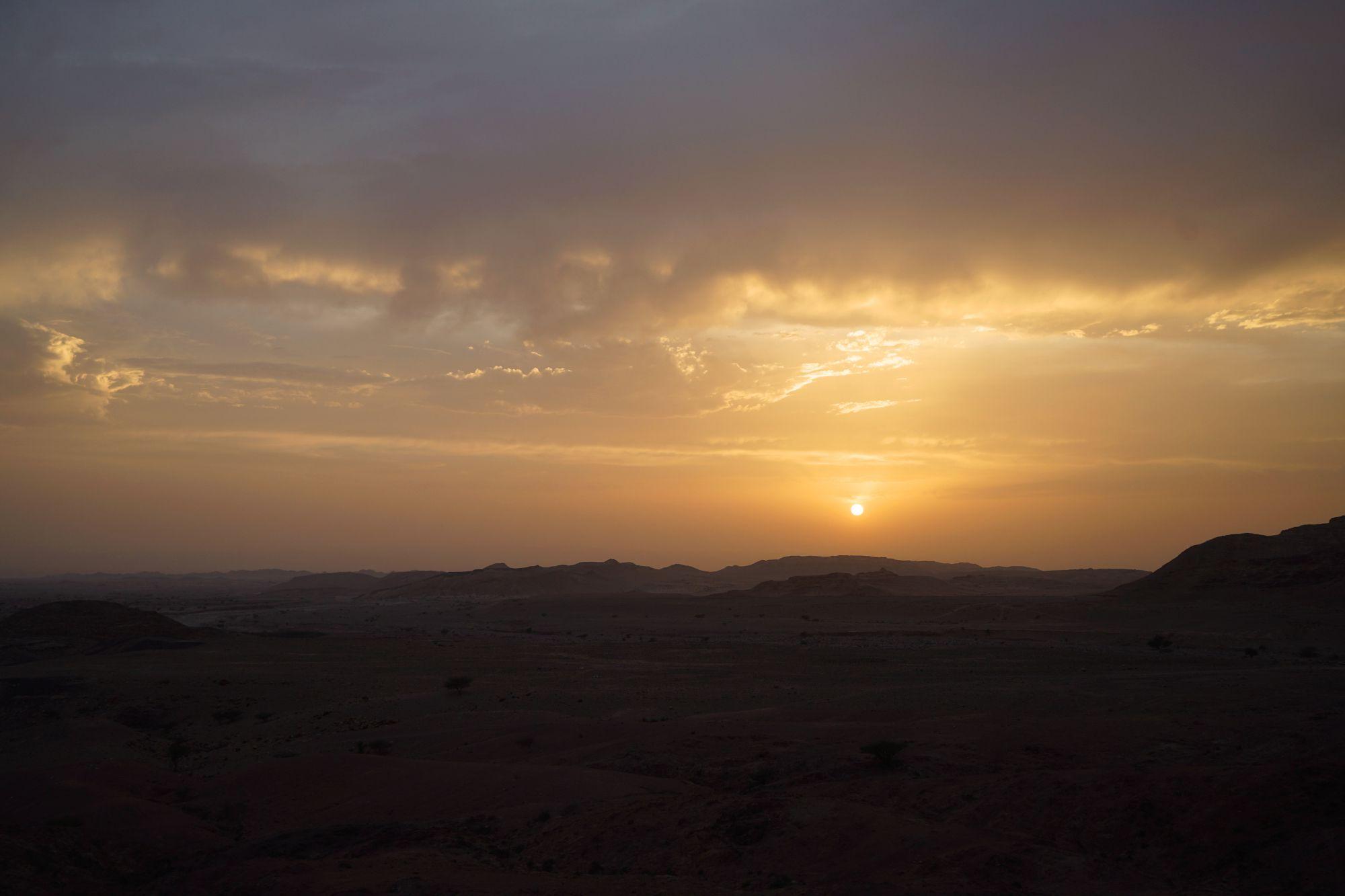 Dana Sonnenuntergang