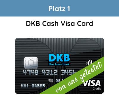 DKB Visa Testsieger