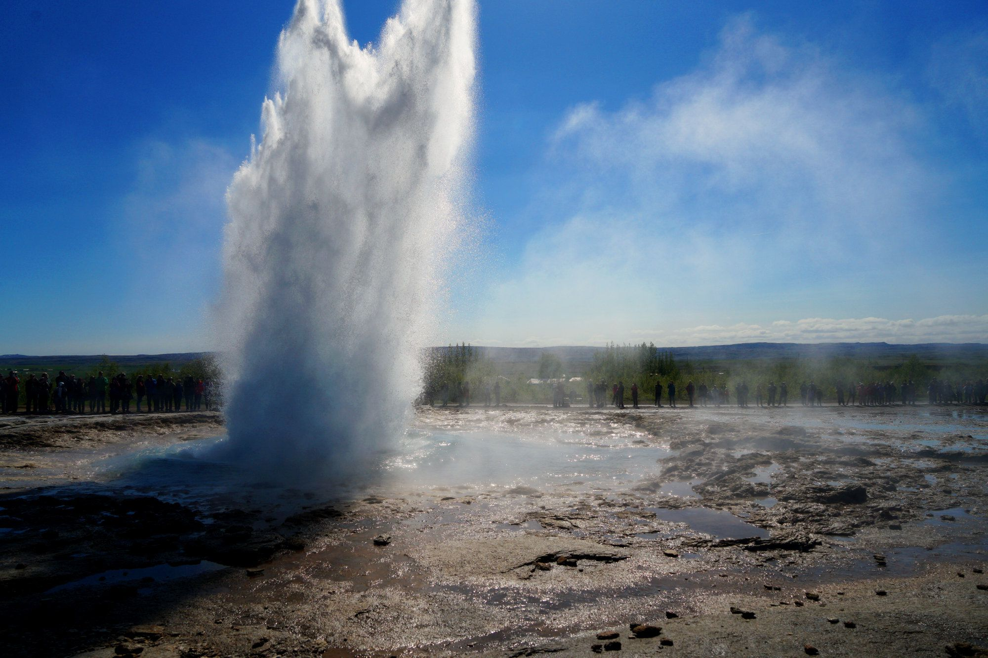 Island Golden Circle Geysir