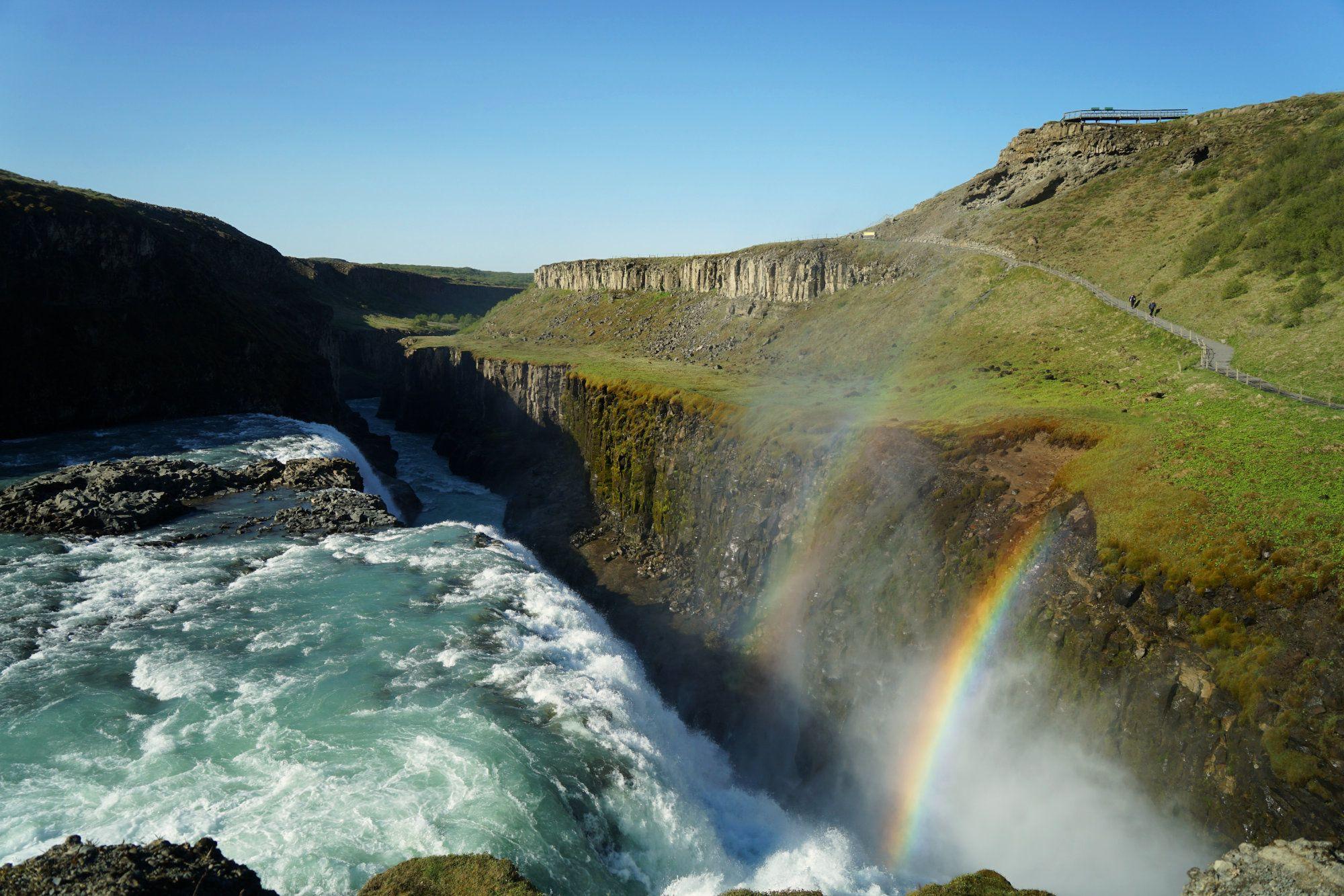 Gulfoss Regenbogen