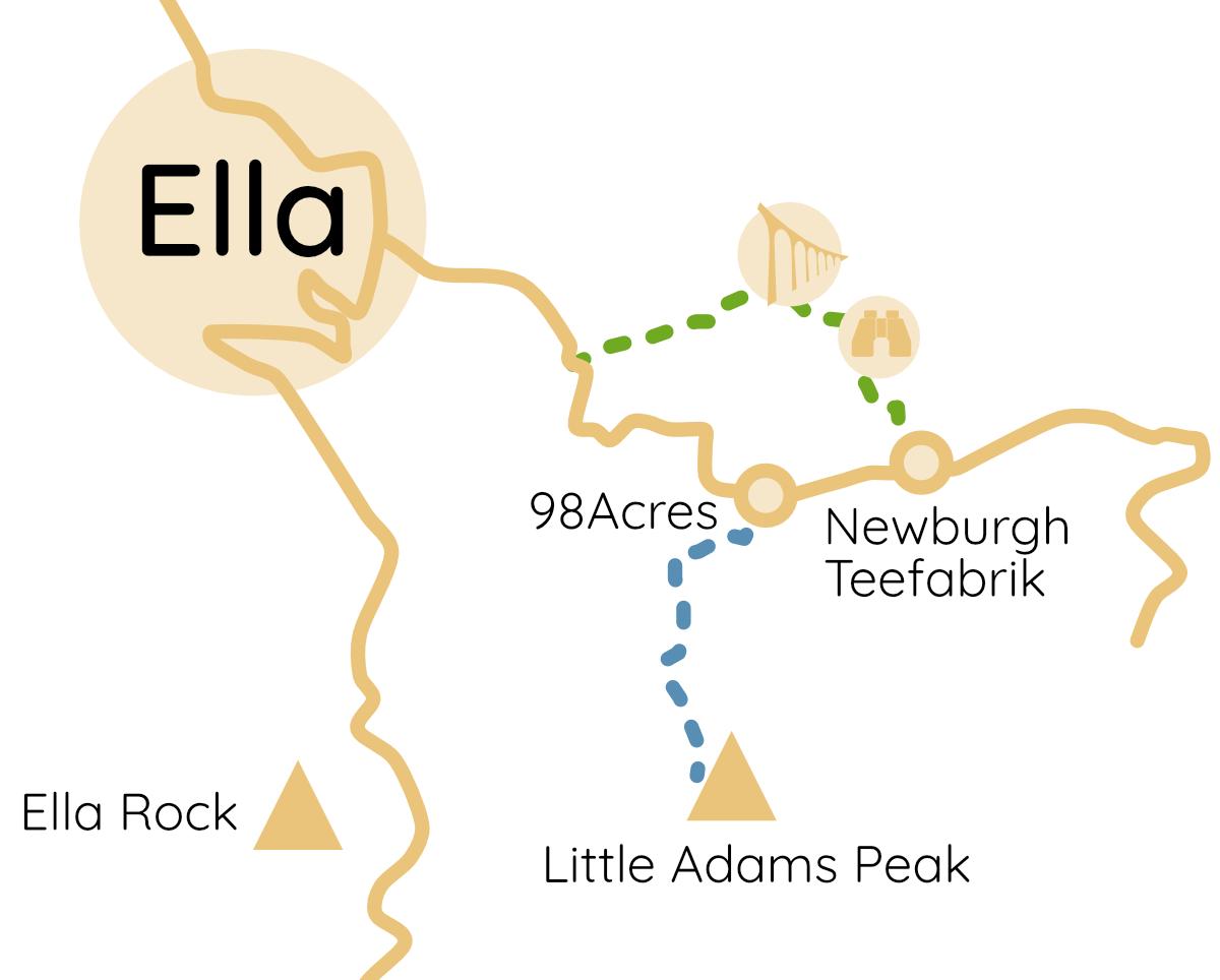 Ella 9 Arches Bridge Viewpoint Route
